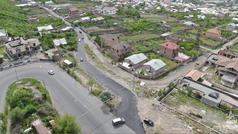 Արդեն երթևեկելի է Նոր Նորք վարչական շրջանը Նորք-Մարաշին կապող նոր ճանապարհը
