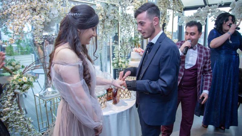 Վիրավոր զինվորն ամուսնացել է «Զինվորի տանը» իրեն խնամած բուժքրոջ հետ (լուսանկարներ)