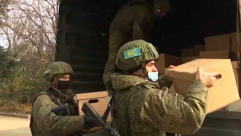 Մարդասիրական օգնություն՝ ռուս խաղաղապահների կողմից