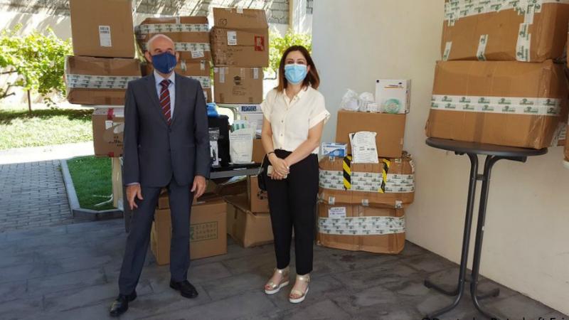 Գերմանիան Հայաստանին 25.000 եվրոյի բժշկական պարագաներ է փոխանցել. Հայաստանում Գերմանիայի դեսպանություն
