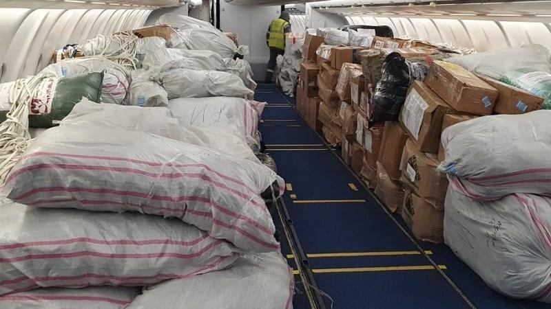 Մոսկվայից ուղարկված 50 տոննա հումանիտար օգնությունն արդեն Հայաստանում է