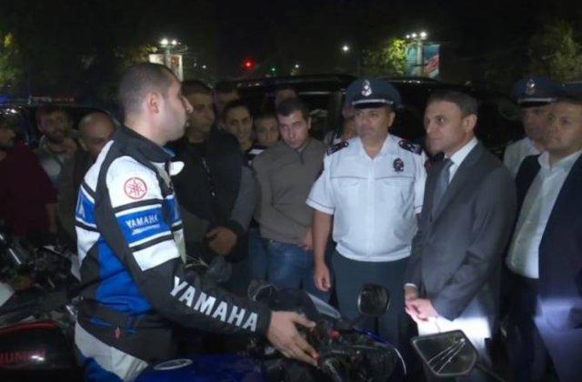 Վալերիյ Օսիպյանը հանդիպել է մոտոցիկլիստների հետ