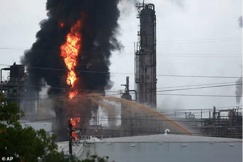 Պայթյուն և հրդեհ Տեխասի նավթային ընկերություններից մեկում. այրվածքներ է ստացել 37 մարդ