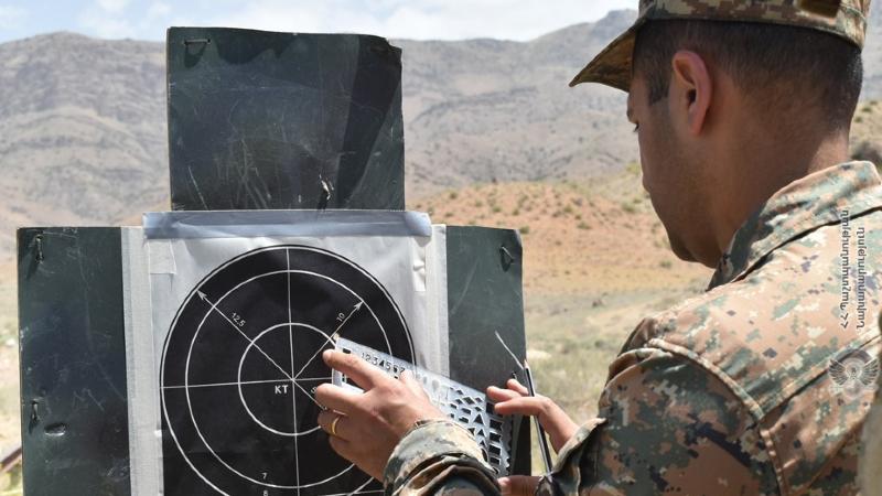 5-րդ զորամիավորումում հատուկ նշանակության ստորաբաժանումների զինծառայողների մասնակցությամբ անցկացվել է հրաձգության գործնական պարապմունք