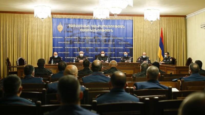 Պատերազմին մասնակցած ոստիկանության 184 ծառայողներ անձնվիրաբար ծառայության համար խրախուսվեցին
