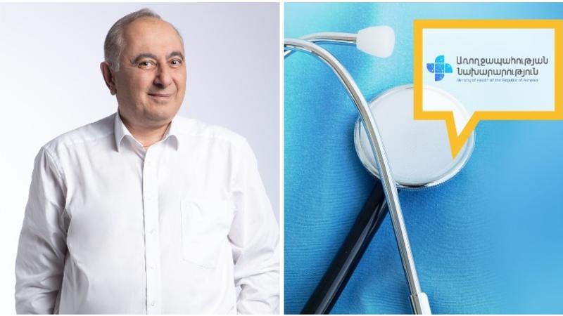 «Հրահանգման» ժամանակներն անցյալում են. առողջապահության նախարարությունը մեկնաբանել է «Հայաստան» դաշինքի պատգամավորի թեկնածուի հայտարարությունը