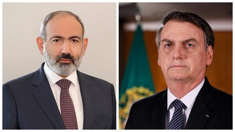 Վարչապետը շնորհավորական ուղերձ է հղել Բրազիլիայի նախագահին՝ Անկախության օրվա առթիվ