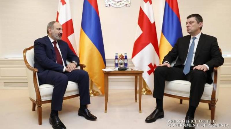 Վարչապետ Փաշինյանը շնորհավորել է Գիորգի Գախարիային՝ Վրաստանի վարչապետի պաշտոնում վերանշանակվելու կապակցությամբ