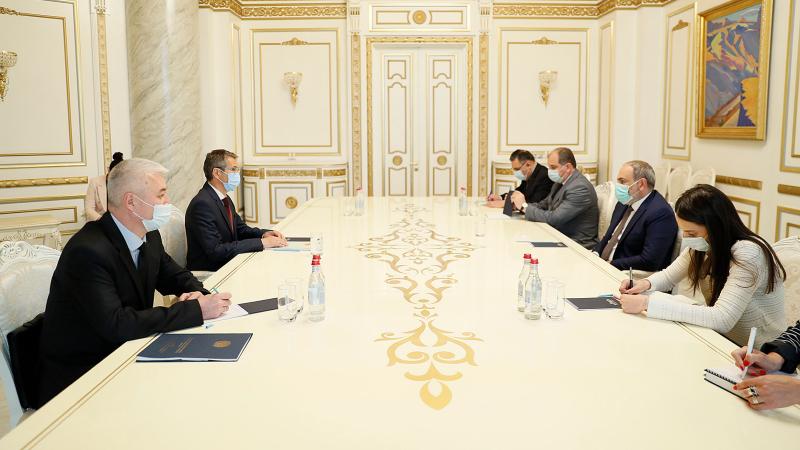 Փաշինյանը Ղազախստանի դեսպանի ուշադրությունը հրավիրել է ԼՂ-ում Ադրբեջանի կողմից հայկական պաշտամունքի վայրերի և հուշարձանների ոչնչացման քաղաքականության վրա