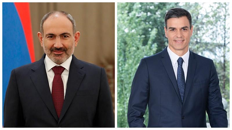 Վարչապետը շնորհավորական ուղերձ է հղել Իսպանիայի կառավարության նախագահին