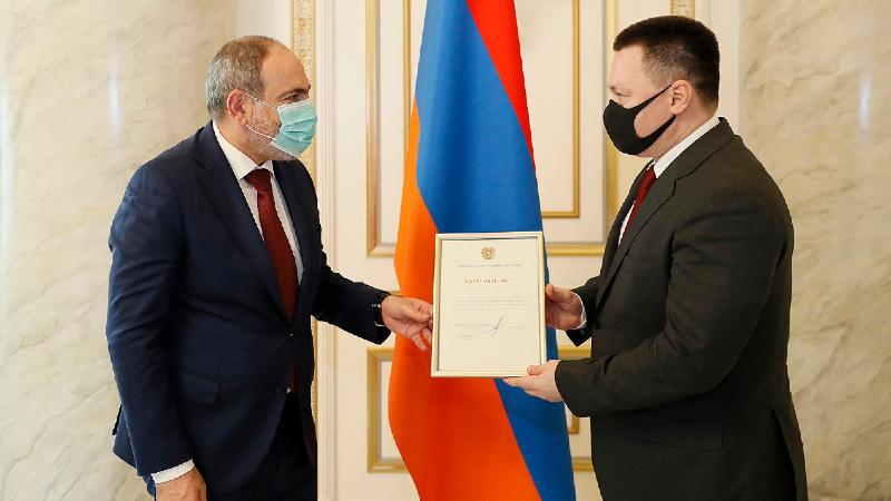 Փաշինյանը ՌԴ գլխավոր դատախազին շնորհակալագիր է հանձնել գերիների վերադարձի ուղղությամբ ջանքերի համար