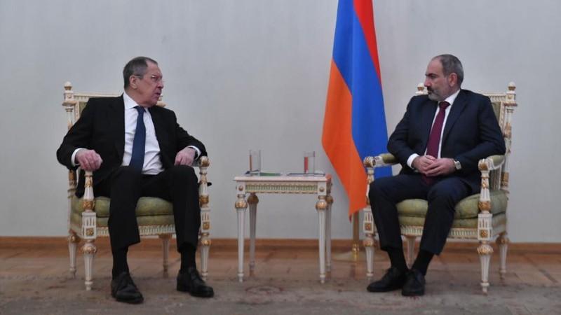 Բովանդակալից զրույց ունեցանք ՌԴ ԱԳ նախարար Սերգեյ Լավրովի հետ․ վարչապետ