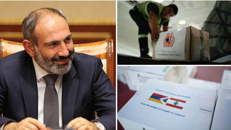Հայաստանի սրտից եւ Արցախի ժողովրդից Լիբանանին. երկու ինքնաթիռ արդեն ուղարկվել է Լիբանան. Նիկոլ Փաշինյան