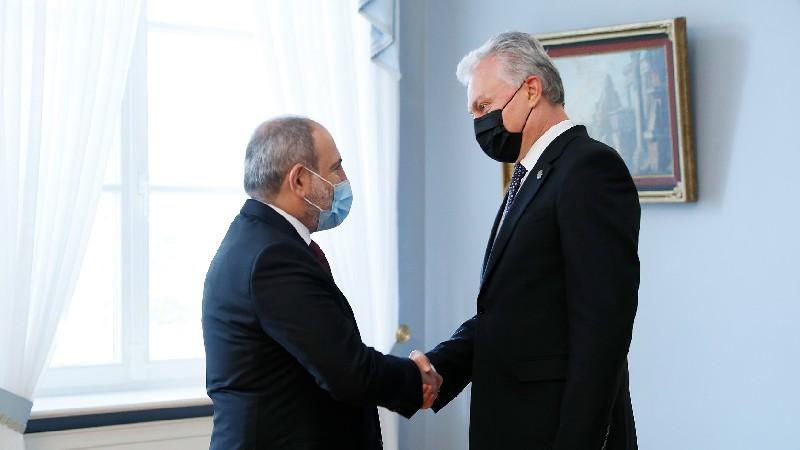 Վարչապետը հանդիպում է ունեցել Լիտվայի նախագահ Գիտանաս Նաուսեդայի հետ