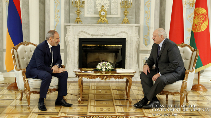 Մինսկում կայացել է Նիկոլ Փաշինյանի և Ալեքսանդր Լուկաշենկոյի հանդիպումը