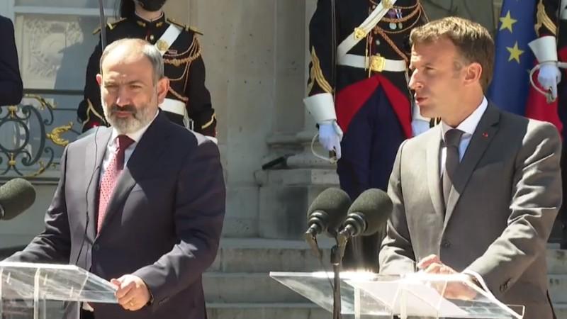 Նիկոլ Փաշինյանի հանդիպումը Ֆրանսիայի նախագահ Էմանուել Մակրոնի հետ (ուղիղ միացում)