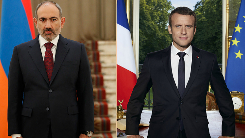 PM Pashinyan highlights stopping possible Turkish intervention in a conversation with Macron