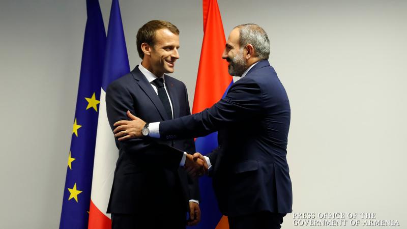 Վարչապետ Փաշինյանը Հայաստան է հրավիրել Ֆրանսիայի նախագահ Էմանուել Մակրոնին