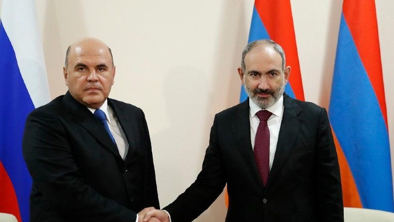 Փաշինյանը շնորհավորել է Միխայիլ Միշուստինին