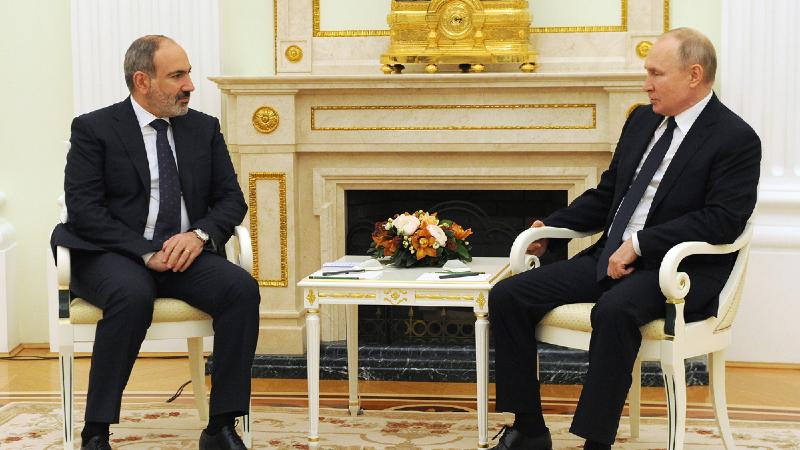 Փաշինյանը և Պուտինը քննարկել են հայ-ռուսական ռազմավարական հարաբերությունների մի շարք հարցեր