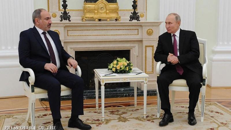 Փաշինյան ու Պուտինը հեռախոսազրույց են ունեցել. ՌԴ նախագահը կողմերին զսպվածության կոչ է արել