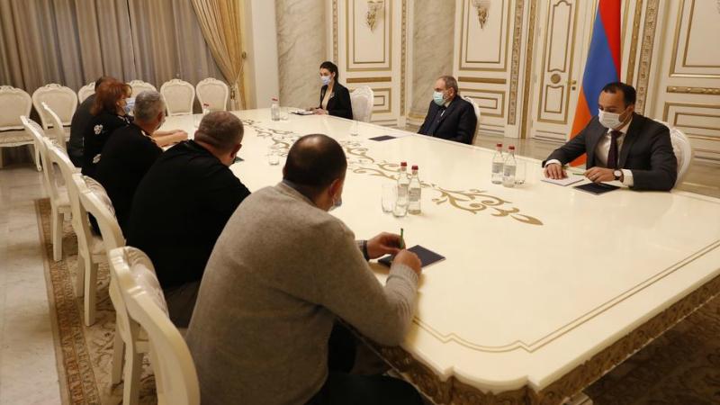 Քիչ առաջ ավարտվեց վարչապետ Նիկոլ Փաշինյանի հանդիպումը ժամկետային զինծառայողների ընտանիքների անդամների հետ. խոսնակ