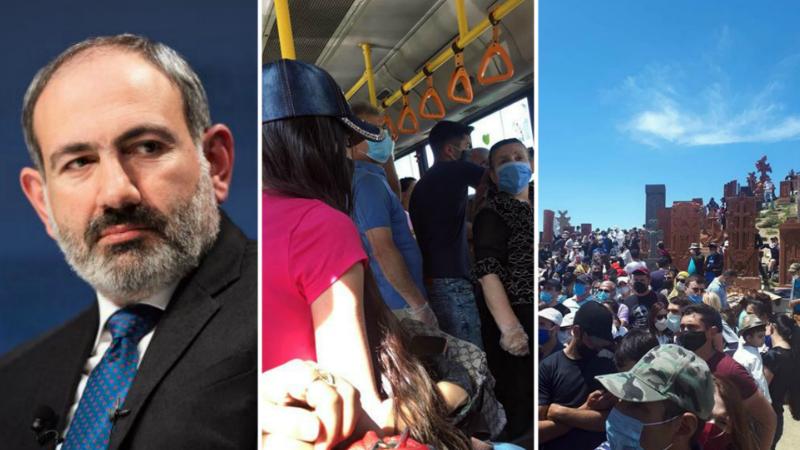 Հետևելով վարչապետի կոչին, քաղաքացիներն ուղարկել են հակահամաճարակային կանոնների խախտման աղաղակող դեպքերը (լուսանկարներ)