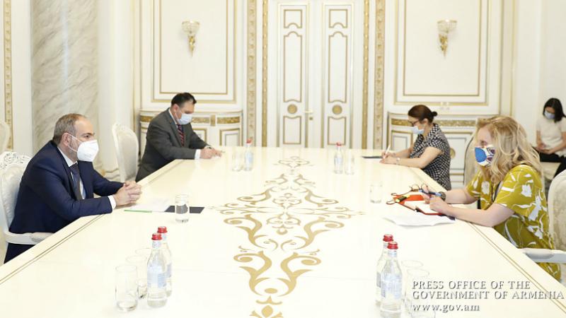 Նիկոլ Փաշինյանն ընդունել է Հայաստանում ԵԽ գրասենյակի ղեկավարին․ անդրադարձ է եղել դատաիրավական ոլորտի բարեփոխումներին