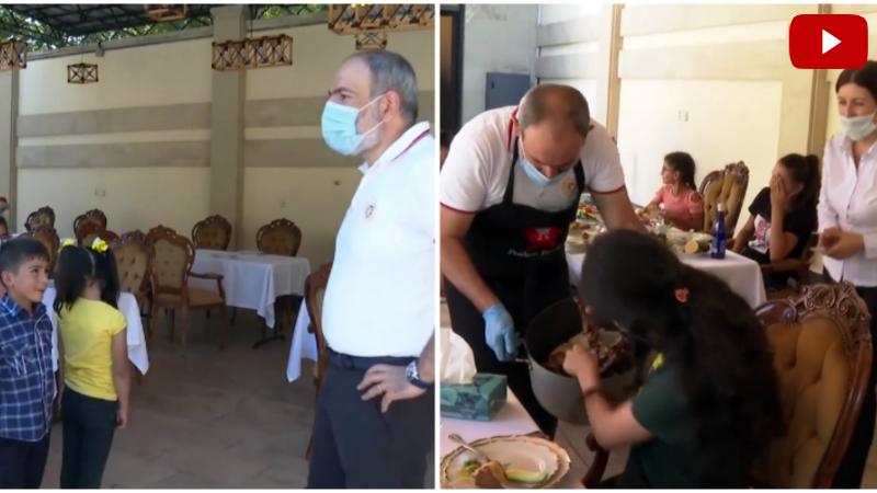 Երեկ կառավարական առանձնատանը հյուրընկալել էինք Տավուշի սահմանապահ համայնքներից մի խումբ երեխաների․ Նիկոլ Փաշինյան (տեսանյութ)