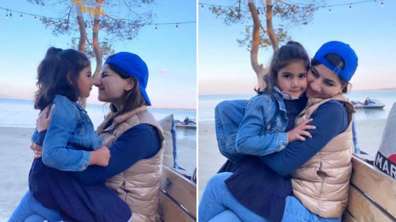Մարիամ Փաշինյանը Արփիի հետ Սևանից լուսանկարներ է հրապարակել