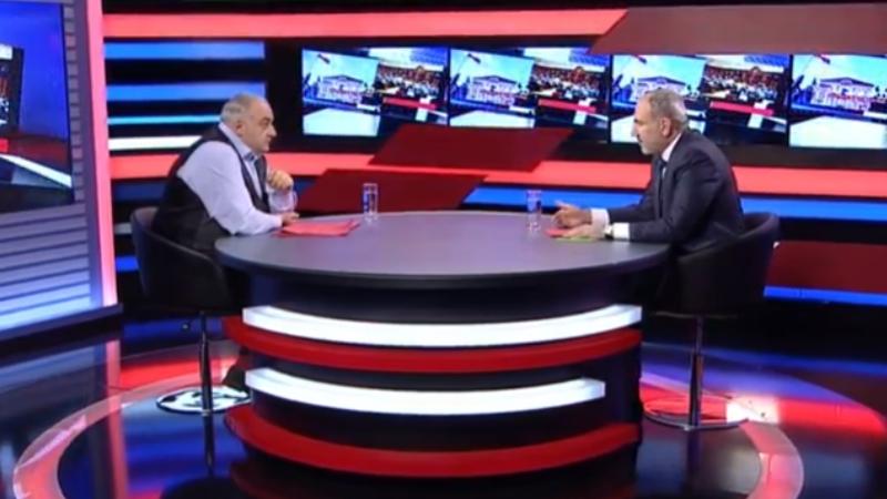 Պետրոս Ղազարյանի հարցազրույցը Նիկոլ Փաշինյանի հետ (ուղիղ միացում)
