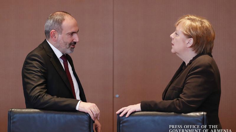 Անգելա Մերկելը Գերմանիայի կառավարության աջակցությունն է հայտնել Հայաստանում իրականացվող դատաիրավական բարեփոխումներին․ մանրամասներ Փաշինյան- Մերկել հանդիպումից
