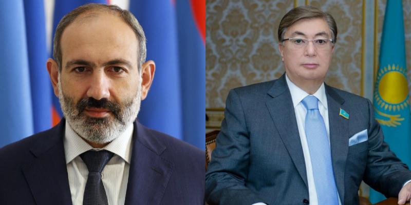 Փաշինյանը շնորհավորել է Ղազախստանի նորընտիր նախագահին՝ հաղթանակի կապակցությամբ