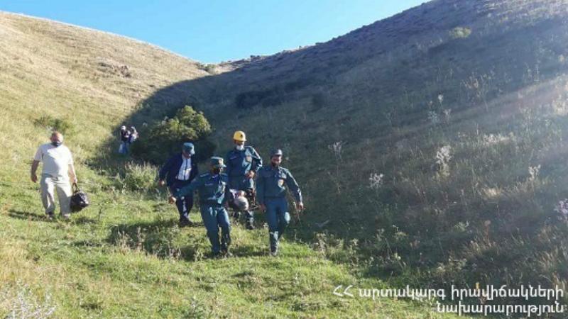 «Սրդի սար» կոչվող հատվածում 60-ամյա կինը վնասել է ոտքը. օգնության են հասել փրկարարները
