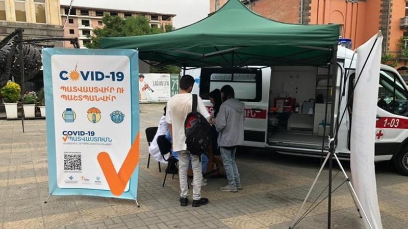 Օտարերկրյա քաղաքացիները կամ քաղաքացիություն չունեցող անձինք COVID-19-ի դեմ կարող են պատվաստվել միայն Երևանում. ՀՀ ԱՆ