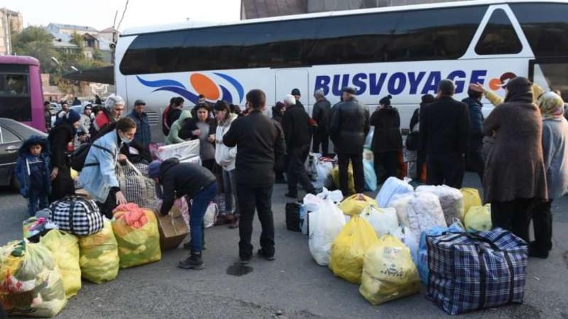 Անցած մեկ օրում ԼՂ է վերադարձել 481 փախստական. ՌԴ ՊՆ