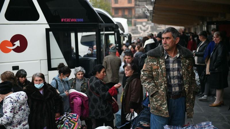 Ռուս խաղաղապահների ուղեկցությամբ այսօր ևս 778 փախստական է վերադարձել Լեռնային Ղարաբաղ