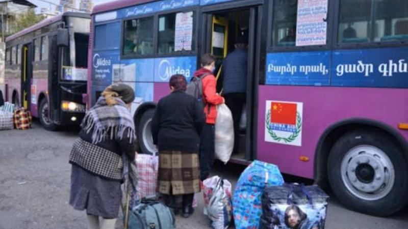 Մեկ օրում 540 արցախցի է վերադարձել Լեռնային Ղարաբաղ