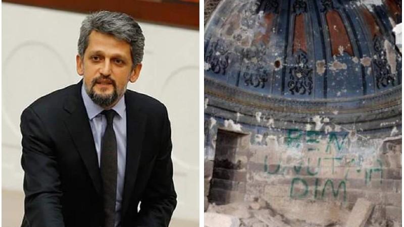 Փայլանն ահազանգել է՝ Թուրքիայում վնասել են 18-րդ դարի հայկական եկեղեցին