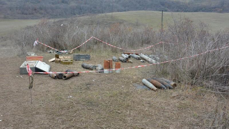 Ասկերանի շրջանի Խնածախ և Այգեստան համայնքների մոտական տարածքներում տեղի կունենա չպայթած զենք-զինամթերքի ոչնչացում