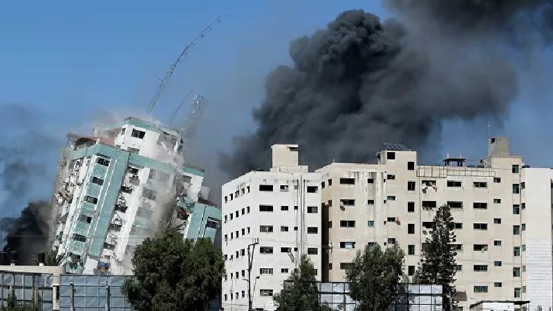 Գազայում իսրայելական հարվածից ոչնչացվել է միջազգային լրատվամիջոցների գրասենյակը