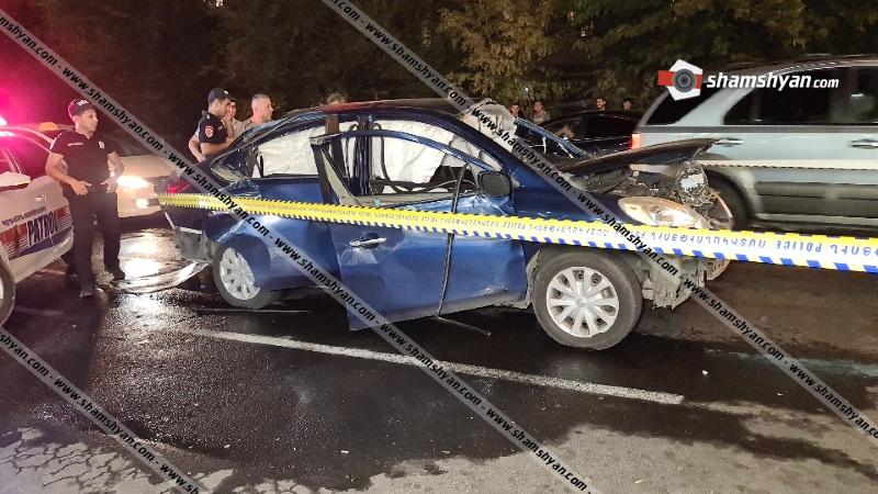 Արտակարգ դեպք Երևանում. Nissan Versa-ում պայթյուն է տեղի ունեցել. կան վիրավորներ