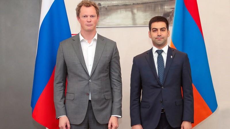 ՀՀ ՊԵԿ նախագահը հանդիպել է ՌԴ դաշնային հարկային ծառայության ղեկավարին