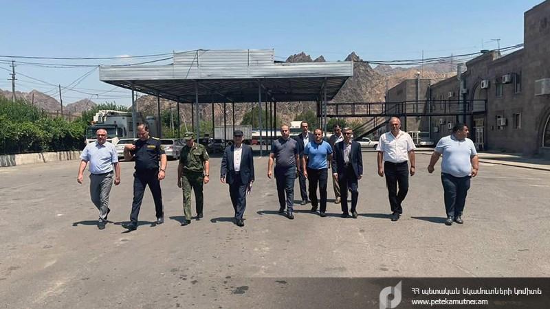 Հայաստանի և Իրանի մաքսային ծառայության աշխատակիցները քննարկել են ոլորտի արդիականացմանն ուղղված հարցեր