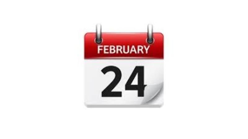 Ինչ կարևոր իրադարձություններ են տեղի ունեցել. փետրվարի 24-ը պատմության մեջ