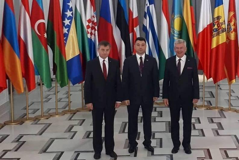 ԱԺ փոխնախագահը Վարշավայում հանդիպել է Լեհաստանի Սենատի և Սեյմի նախագահների հետ