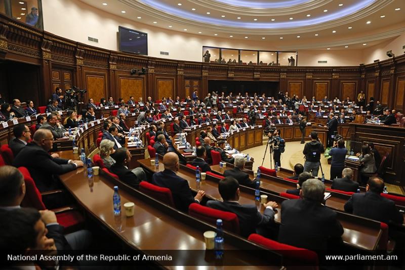 Ազգային ժողովում մեկնարկել է հերթական նիստը