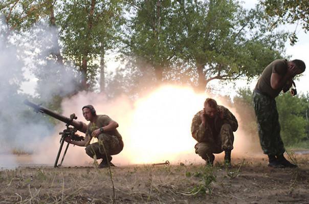 Դոնբասում սրվել է հակամարտությունն աշխարհազորայինների և Ուկրաինայի Զինուժի միջև