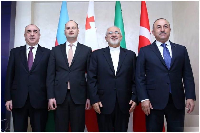 «Բաքվում կայացել է Ադրբեջանի, Թուրքիայի, Իրանի ու Վրաստանի ԱԳ նախարարների քառակողմ հանդիպումը»