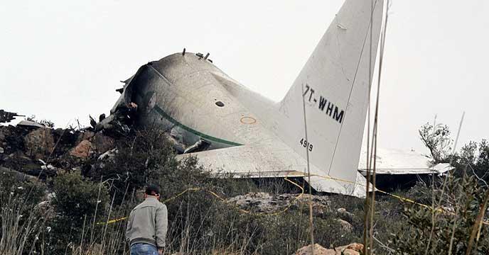 257 մարդ է զոհվել Ալժիրում ռազմական ինքնաթիռի կործանման հետևանքով